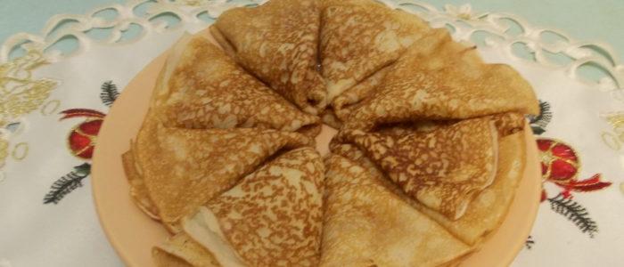 Блины - вкусное блюдо русской кухни
