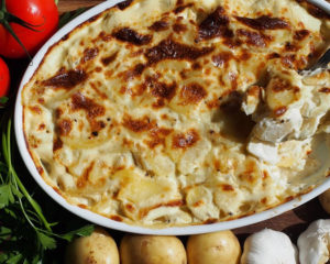 Картофельная запеканка - замечетельный вариант обеда или ужина, быстрый вариант обеда или ужина, очень вкусное блюдо