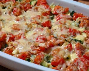 Замечательное блюдо из помидоров, запеченных в форме под сырной корочкой, вкуснои полезно, хоть на обед, хоть на ужин