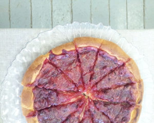 Домашний пирог из сметанного теста, очень простой и вкусный пирог получается