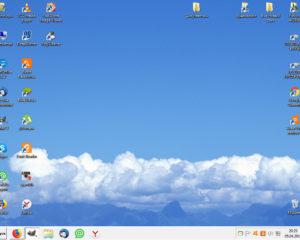 Рабочий стол компьютера - это большая папка операционной системы,где находится все необходимое для работы на компьютере