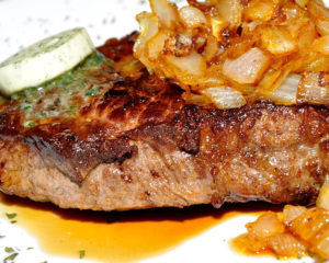 ромштекс - вкусное мясное блюдо