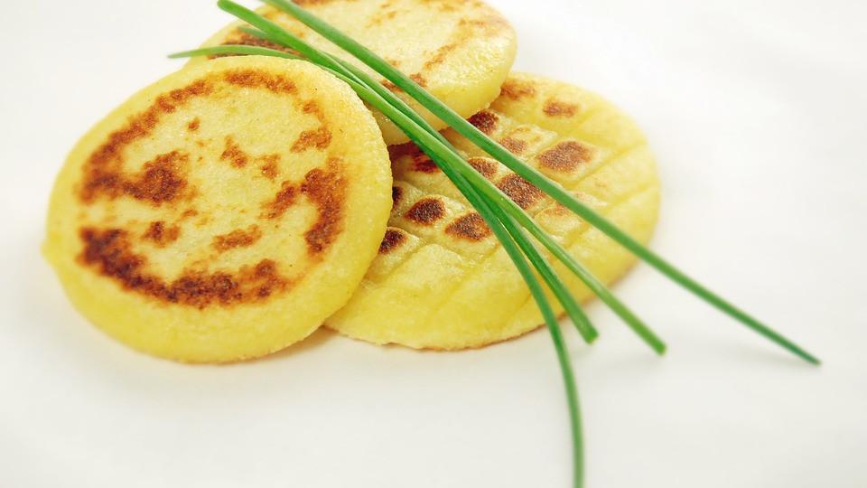 котлеты картофельные - постная еда