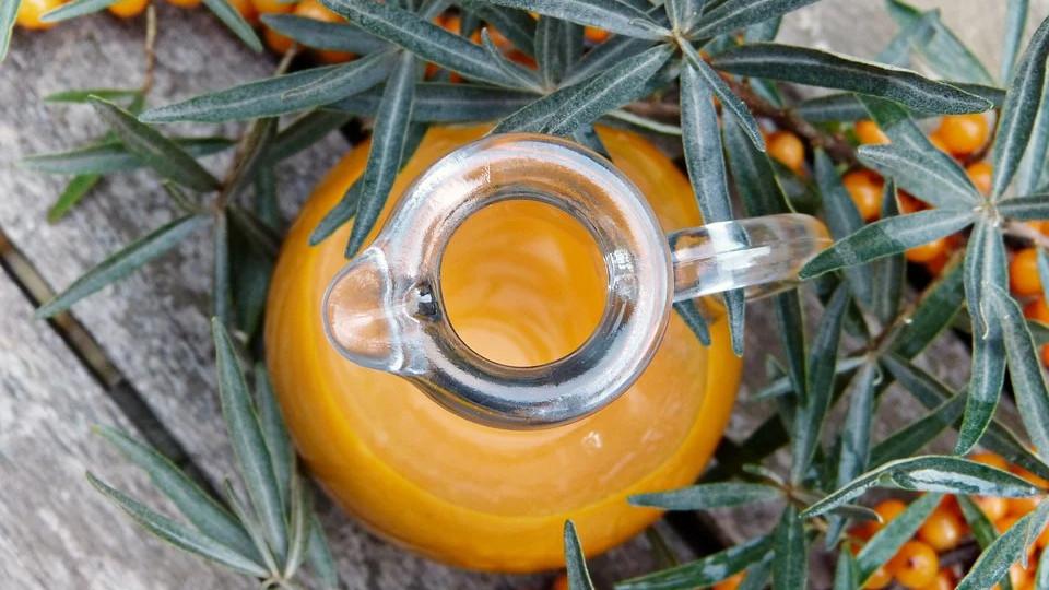 Сок облепихи, как ингредиент для маринада