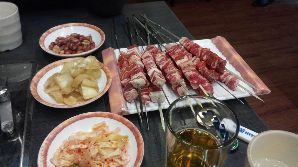 шашлык из мяса баранины