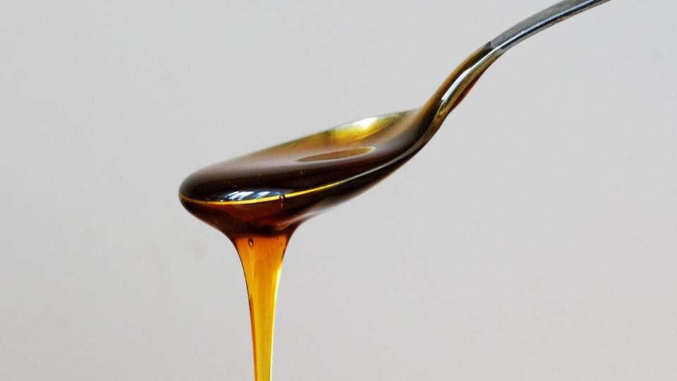 Мед для салата с огурцами