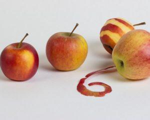 Яблоки в платочках, запеченные яблоки в тесте