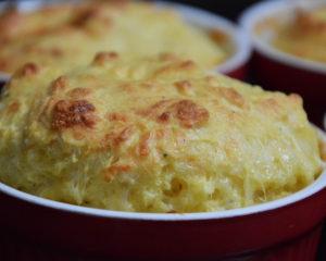 Вкусное и питательное куриное суфле с сыром, непременно понравится всем