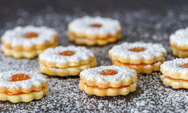 Домашнее печенье к чаю по простому рецепту, вкусная выпечка