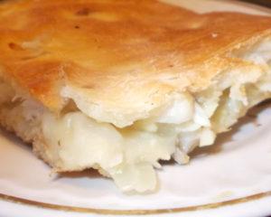 Пирог крестьянский заливной на кефирном тесте, лего приготовить, начинка по вкусу
