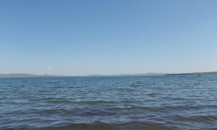 озеро Шира - минерализированное озеро в Хакасии
