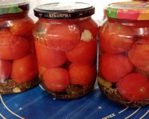 томаты консервированные