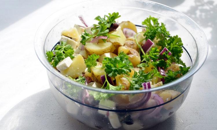 Салат чс картофелем